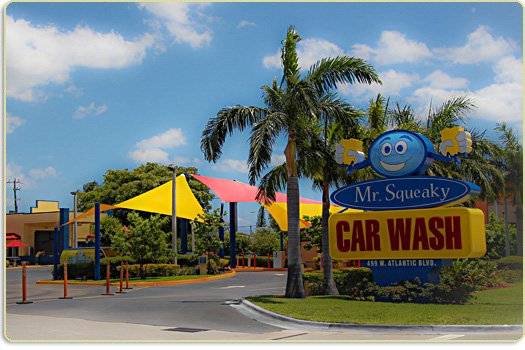Welcome To Mr  Squeaky Car Wash
